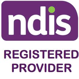 NDIS registered provider badge
