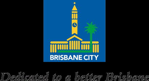 Brisbane City Logo 'dedicated to a better Brisbane'.